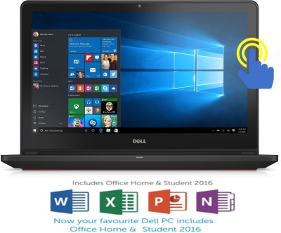 Dell Inspiron 7000 Core i5 6th Gen - (8 GB/1 TB HDD/8 GB SSD/Windows 10 Home/4 GB Graphics) 7559 Gaming Laptop(15.6 inch, Black, 2.57 kg, With MS Office) 1