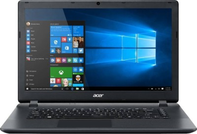 Acer ES 15 APU Quad Core A4 6th Gen - (4 GB/500 GB HDD/Windows 10 Home) ES1-521-899K Laptop(15.6 inch, Black)