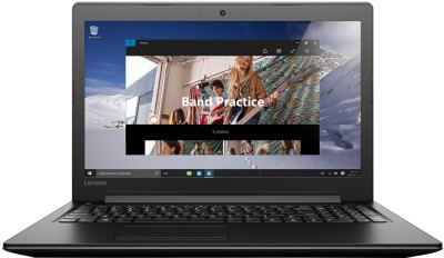 Lenovo Ideapad 310 APU Quad Core A10 7th Gen - (8 GB/1 TB HDD/Windows 10 Home/2 GB Graphics) 310 Notebook(15.6 inch, Black, 2.2 kg)