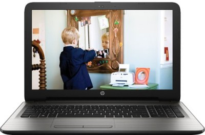 HP Core i3 5th Gen - (4 GB/1 TB HDD/Windows 10 Home/2 GB Graphics) 15-AY004TX Laptop(15.6 inch, SIlver, 2.19 kg)