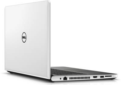 Dell Inspiron 5559 5559i581tb2gbw10WG Y566509HIN9WG Intel Core i5 (6th Gen) - (8 GB DDR3/1 TB HDD/Windows 10/2 GB Graphics) Notebook (15.6 inch, White Gloss)