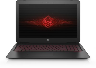 Image of HP OMEN Core i7 7th Gen 15-ax250TX Gaming Laptop which is one of the best laptops under 80000