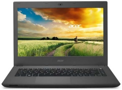 Acer Aspire One Core i3 5th Gen - (4 GB/500 GB HDD/Linux/128 MB Graphics) Z1402-32BJ Notebook(14 inch, Black, 2.3kg kg)