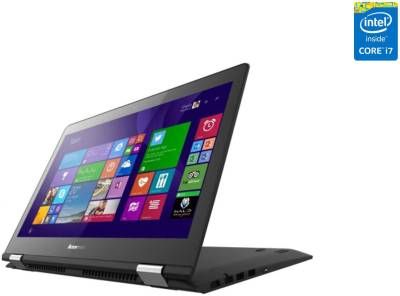 Lenovo Yoga 500 80N4003WIN Core i5 (5th Gen) - (4 GB DDR3/500 GB HDD/Windows 8.1) 2 in 1 Laptop (14 inch, Black)