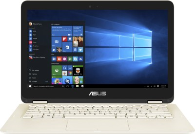 Asus Core m3 7th Gen - (4 GB/128 GB SSD/Windows 10 Home) UX360CA-C4150T Thin and Light Laptop(13.3 inch, Gold, 1.3 kg)