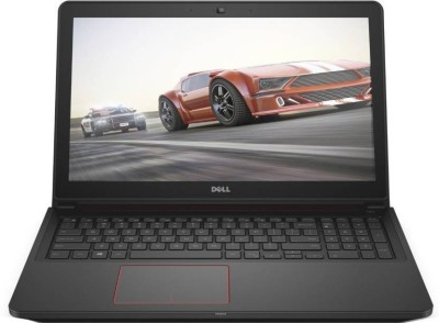 Dell Inspiron Core i7 6th Gen - (16 GB/1 TB HDD/128 GB SSD/Windows 10 Home/4 GB Graphics) 7559 Gaming Laptop(15.6 inch, Black, 2.57 kg) at flipkart