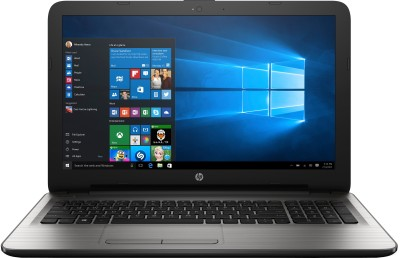 HP APU Quad Core A8 6th Gen - (4 GB/1 TB HDD/Windows 10 Home/2 GB Graphics) 15-ba001AX Notebook(15.6 inch, Turbo SIlver, 2.19 kg)