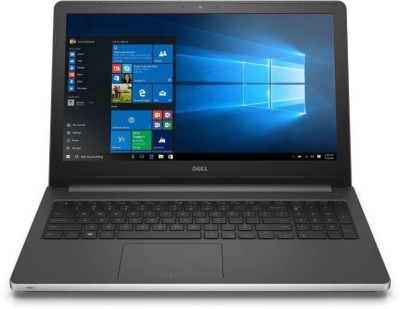 Dell Inspiron 5000 Core i5 6th Gen - (8 GB/1 TB HDD/Windows 10 Home/2 GB Graphics) 5559 Laptop(15.6 inch, Silver, 2.4 kg, With MS Office)