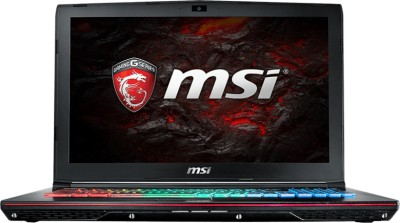 MSI GE Core i7 6th Gen - (16 GB/1 TB HDD/256 GB SSD/Windows 10 Home/6 GB Graphics) GE62VR Notebook(15.6 inch, Black, 2.4 kg)