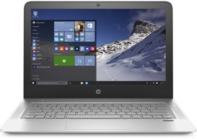 HP Envy Core i5 6th Gen - (4 GB/256 GB SSD/Windows 10 Home) 13-d015TU Notebook(13.3 inch, Natural SIlver, 1.275 kg)