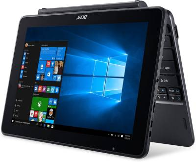 Acer One 10 Atom Quad Core - (2 GB/32 GB SSD/Windows 10 Home) NT.LCQSI.001 S1003 2 in 1 Laptop