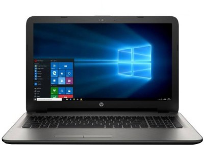 HP APU Quad Core A8 6th Gen - (4 GB/1 TB HDD/Windows 10 Home) 15-bg002AU Notebook(15.6 inch, Turbo SIlver, 2.19 kg)