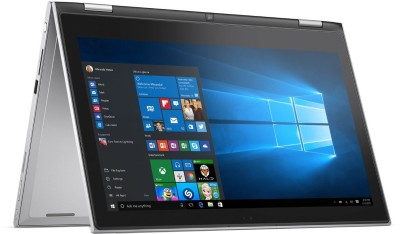Dell Inspiron Core i5 6th Gen - (8 GB/500 GB HDD/8 GB SSD/Windows 10 Home) 7359 2 in 1 Laptop(13.3 inch, Silver, 1.63 kg) at flipkart