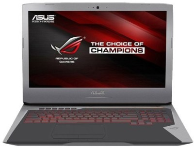 Asus ROG Core i7 6th Gen - (16 GB/1 TB HDD/512 GB SSD/Windows 10 Home/8 GB Graphics) G752VY-GC489T Notebook(17.3 inch, Grey, 4.3 kg)