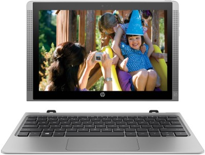 HP Atom Quad Core - (4 GB/64 GB EMMC Storage/Windows 10 Home) x2 210 2 in 1 Laptop(10.1 inch, Silver, 1.139 kg)