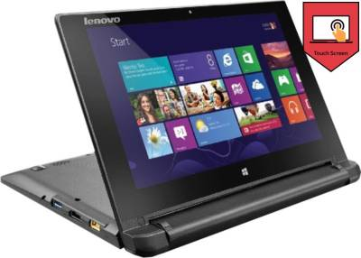 Lenovo-Flex-10-59-439199-10.1-inch-Touchscreen-Laptop-(Celeron-N2807/2GB/500GB/Win-8.1-OS),-Brown