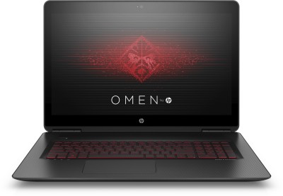 HP OMEN Core i7 7th Gen - (16 GB/1 TB HDD/128 GB SSD/Windows 10 Home/6 GB Graphics) 17-w249TX Notebook(17.3 inch, Black)