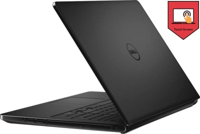 Dell Inspiron Core i5 5th Gen - (4 GB/1 TB HDD/Windows 8 Pro/2 GB Graphics) 5558 Notebook(15.6 inch, Black, 2.22 kg)