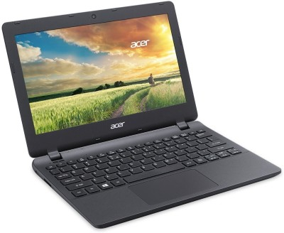 Acer Aspire ES Celeron Dual Core - (2 GB/500 GB HDD/Linux) ES1-111 Laptop(11.6 inch, Diamond Black, 1.29 kg)
