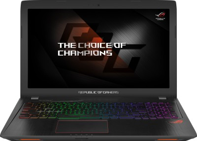 Asus ROG Core i7 7th Gen - (8 GB/1 TB HDD/Windows 10 Home/4 GB Graphics/NVIDIA Geforce GTX 1050Ti) GL553VE-FY047T Gaming Laptop(15.6 inch, Black Metal, 2.5 kg)