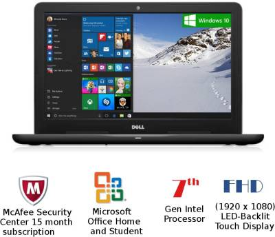 Dell Inspiron 5000 Core i7 - (8 GB/1 TB HDD/Windows 10 Home/4 GB Graphics) Z563505SIN9B 5567 Notebook