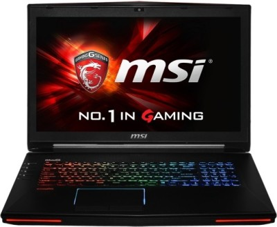 MSI Dominator Pro Core i7 4th Gen - (8 GB/1 TB HDD/Windows 8 Pro/8 GB Graphics) GT72 2QE Gaming Laptop(17.3 inch, Black) image