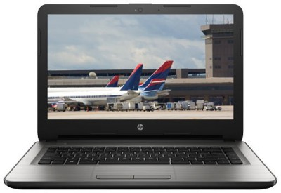 HP Core i3 5th Gen - (4 GB/1 TB HDD/Windows 10 Home) 14-AM020TU Laptop(14 inch, Turbo SIlver, 2.19 kg) at flipkart
