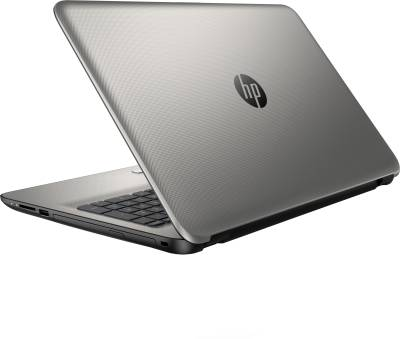 HP 15-af006AX M9V38PA APU Quad Core A8 - (4 GB DDR3/500 GB HDD/2 GB Graphics) Notebook (15.6 inch, Turbo SIlver Color With Diamond & Cross Brush Pattern)