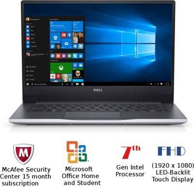Dell Inspiron 7000 Core i7 - (8 GB/1 TB HDD/128 GB SSD/Windows 10 Home/4 GB Graphics) Z561503SIN9G 756...