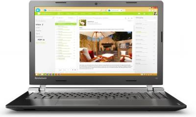 Lenovo Ideapad 100-15IBY (80MJ00A9IN) Notebook Image