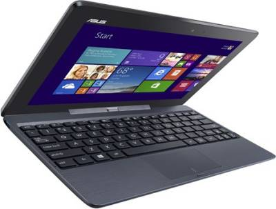 Asus-Transformer-T100TA-DK005H-2-in-1-Laptop-(90NB0451-M00990)-(Intel-Atom--2-GB-RAM--500-GB-HDD+32-GB-eMMC--25.65-cm-(10.1)--Touch--Windows-8.1)-(Grey)