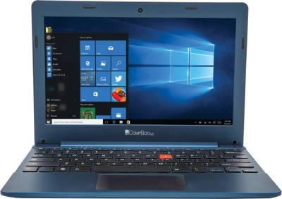 iBall Netbook CompBook Excelance 8902968170509 Intel Atom Quad Core - (2 GB DDR3/32 GB HDD/Windows 10) (11.6 inch, Cobalt Blue)
