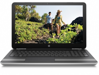 HP Core i5 7th Gen - (8 GB/1 TB HDD/Windows 10 Home/4 GB Graphics) 15-au623tx Notebook(15.6 inch, SIlver, 2.04 kg)