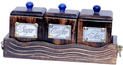 Univocean UNIV_C196 3 Piece Condiment Set(Wooden) at flipkart