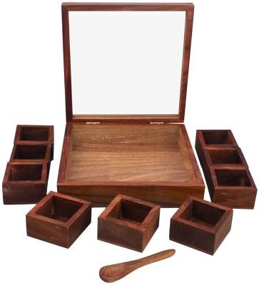 Seema Crafts Condiment Set(Wooden) at flipkart