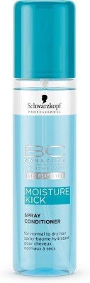Schwarzkopf Bonacure Moisture Kick Spray Conditioner(199 ml)  available at flipkart for Rs.800