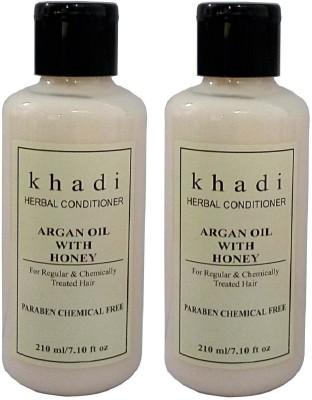 Khadi Herbal Argan with Honey Conditioner (Parben Chemical Free )(420 ml)