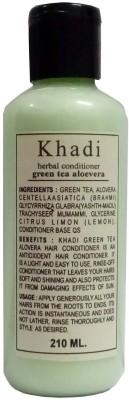 Khadi Herbal Green Tea Aloe Vera Hair Conditioner(210 ml)  available at flipkart for Rs.145