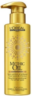 L'Oreal Paris Mythic Oil Nourishing Conditioner For All Hair Types, 190ml