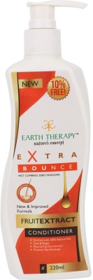 EARTH THERAPY Extra Bounce Fruit Extract Hair(220 ml)  available at flipkart for Rs.160
