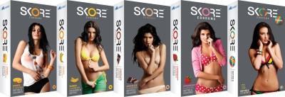 Skore Colourful Combo Condoms (50 Condoms)