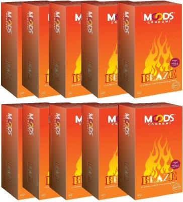 Moods Blaze Condoms (120 Condoms)