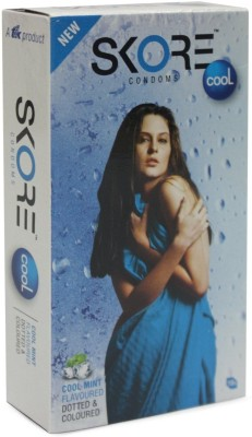 Skore cool Condom(Set of 10, 10S)  available at flipkart for Rs.80