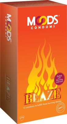 Moods Blaze condom(12S)  available at flipkart for Rs.69