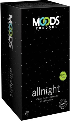 Moods Moods All Night Climax Delay Condoms (12 Condoms)