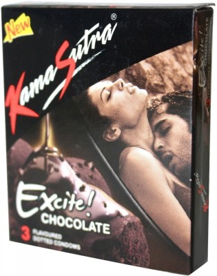 KamaSutra Chocolate Condom(Set of 50, 150S) at flipkart