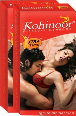 Kohinoor Xtra Time Condoms (10 Condoms)