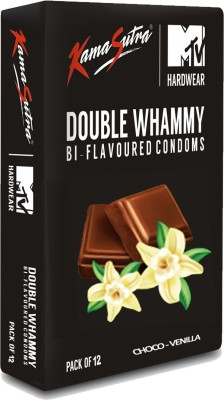 KamaSutra Double Whemmy Condom(12S)  available at flipkart for Rs.100
