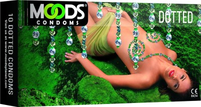Moods Dotted All-Round Pleasure Condom(10S)  available at flipkart for Rs.80