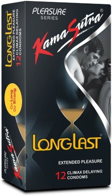 KamaSutra Longlast Condom(12S)  available at flipkart for Rs.120
